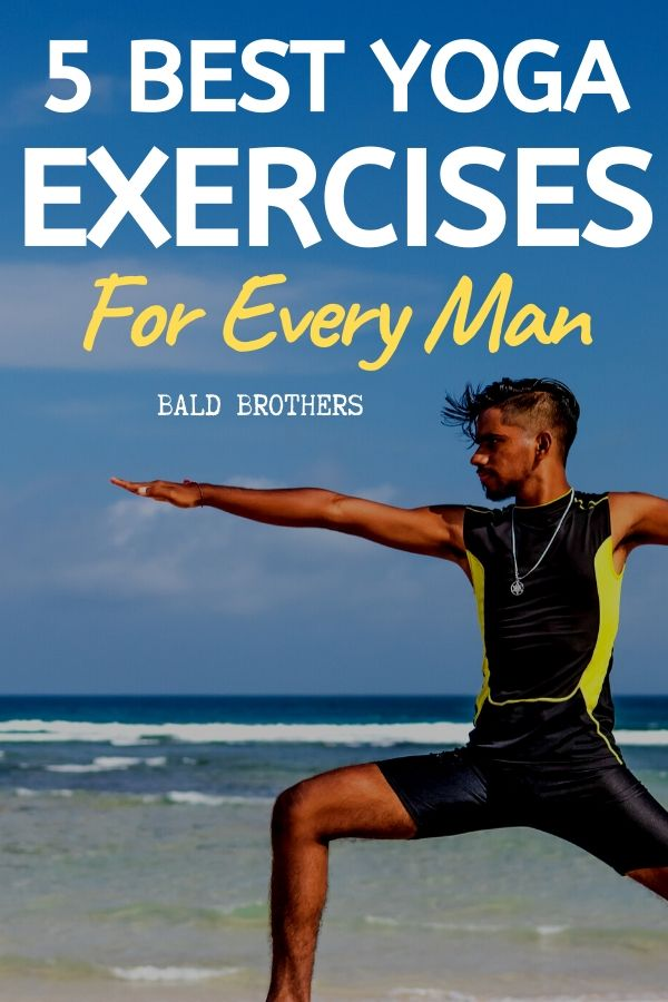 5 Yoga Poses For Men
