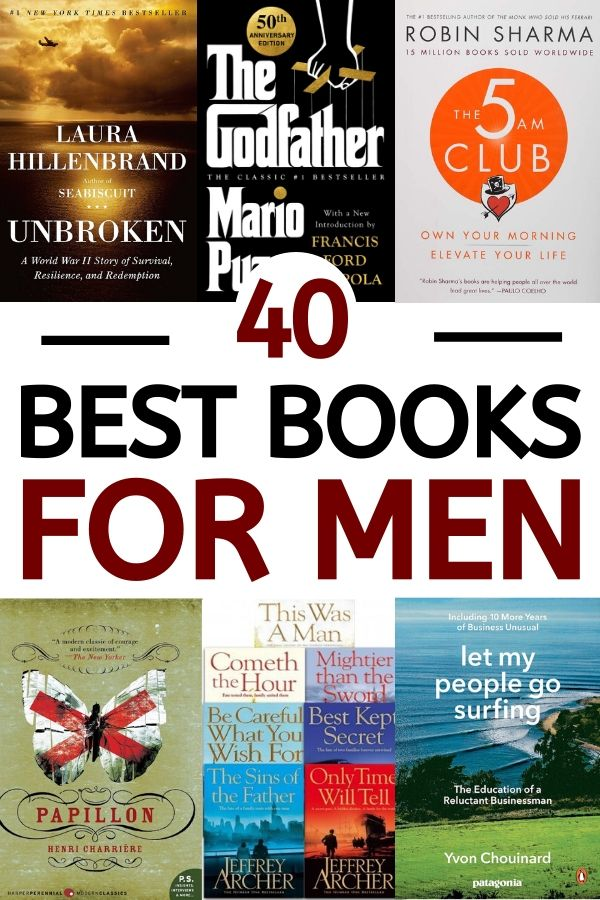 The best list of male books ever