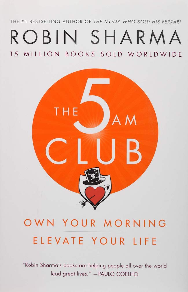 The 5am Club book for men