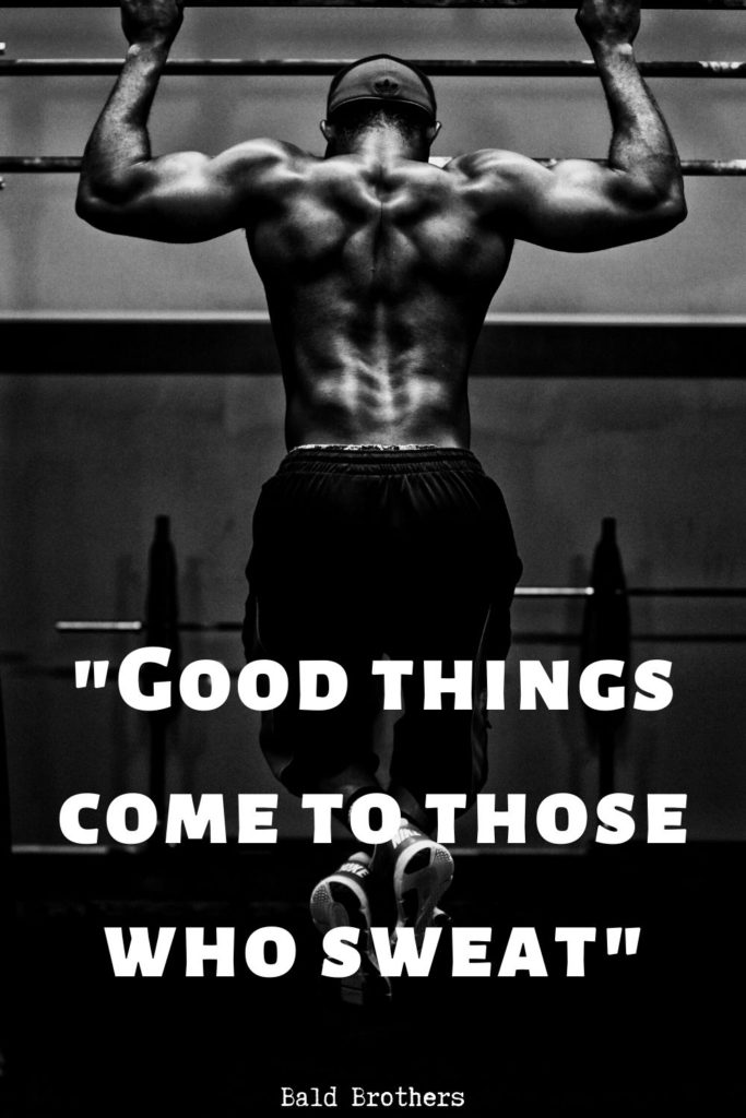 workout quotes for males