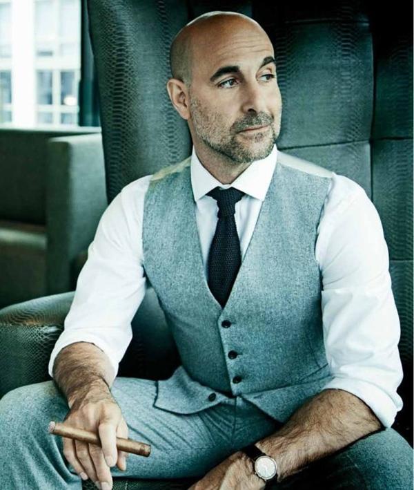 Beard styles for bald men 2