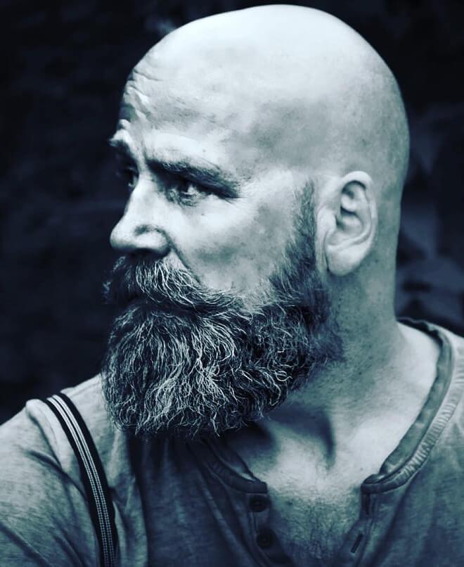 The Best Beard Styles For Bald Men Balding With A Beard