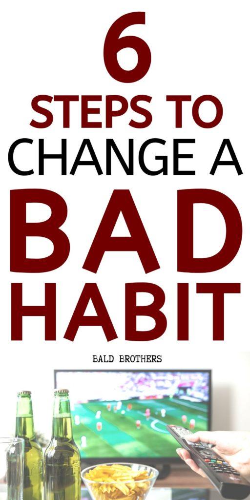 change a bad habit