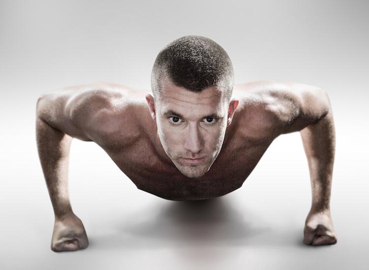 Push ups bodyweight exercise