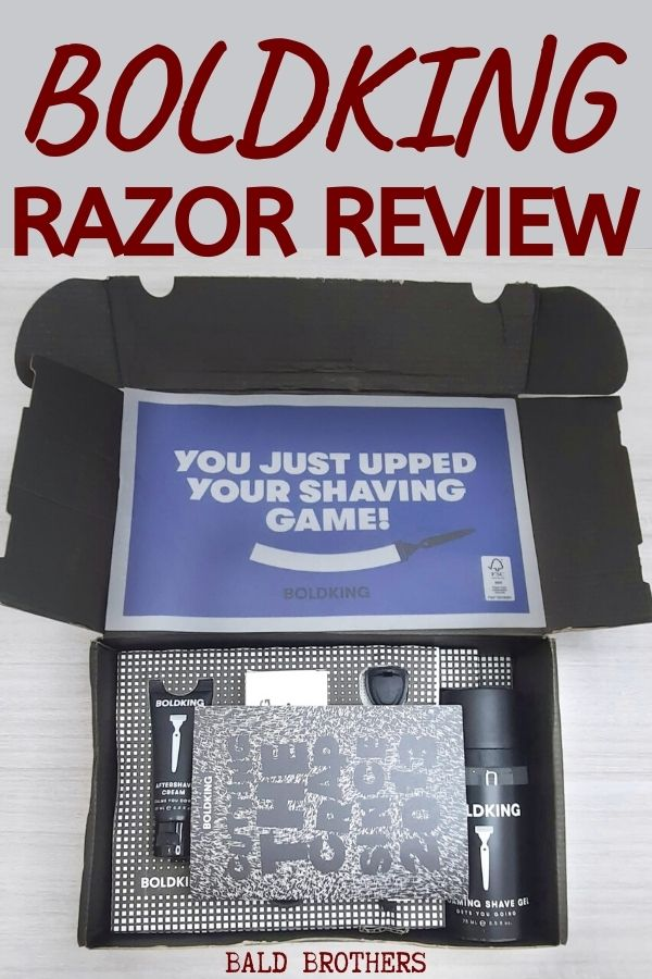 Boldking Review_ Head Shaving with Boldking Razor