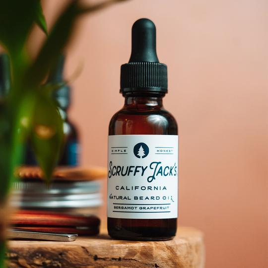 Scruffy Jacks Beard Oil