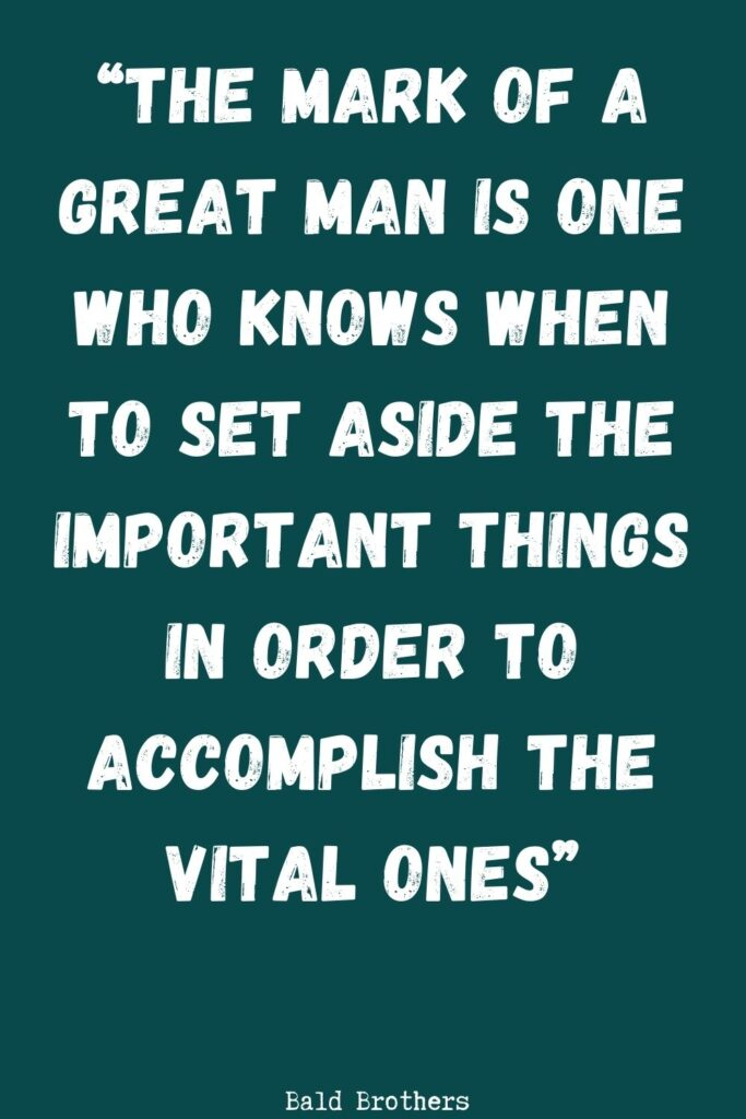 quotes about being a man