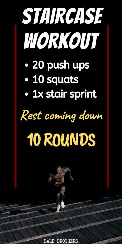 Intense Stair Running Workout