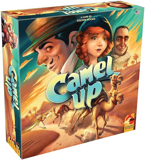 Camel Up Board Game for Adults