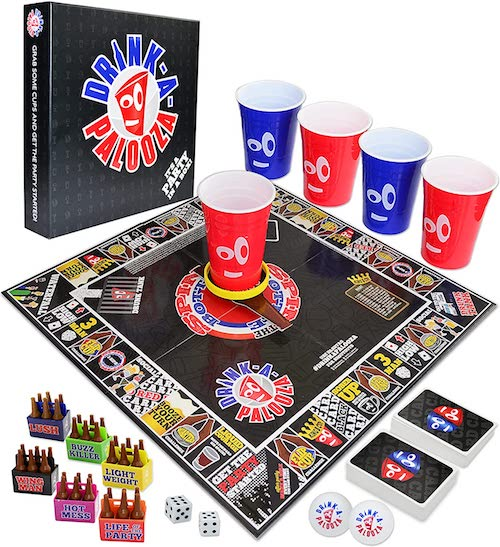 Drinking board games for adults