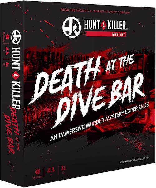 Murder Mystery Board game for Adults